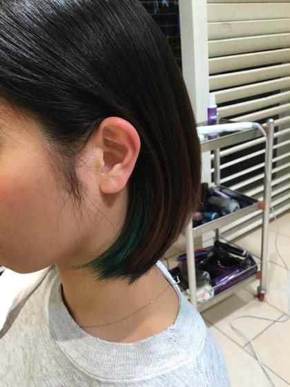 インナーカラー organic hair salon byEQ所属・岡田憲紀のスタイル