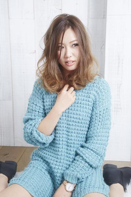 【髪に優しく潤う】似合わせカット+透明感カラー(白髪対応)+パーマ ¥10000