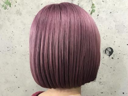 『髪質改善』酸熱トリートメント