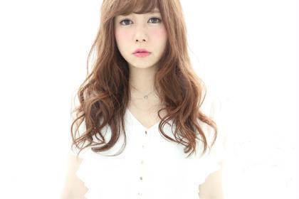 その他 カラー セミロング ヘアアレンジ ミディアム ロング イルミナカラー❤︎ ¥6000