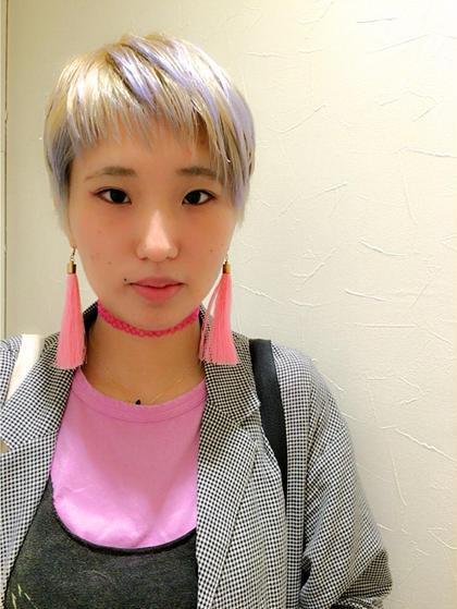 ベリショ✖️パープルホワイト BASSA高田馬場店所属・カタイシマイのスタイル