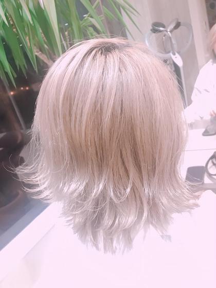 Hair&Make EARTH所属・秋葉安里菜のスタイル
