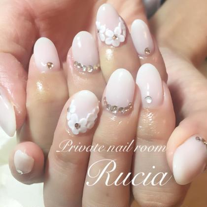 """Ruciaコース\♡/(やり放題)有料パーツ*キャラアート除く 他店オフ¥0  *3Dアート別料金 Private nail room""""Rucia""""所属・山本優佳のフォト"""