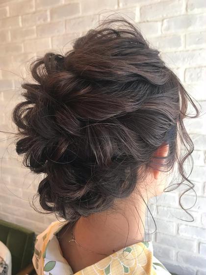 結婚式、パーティー、ライブヘアセット