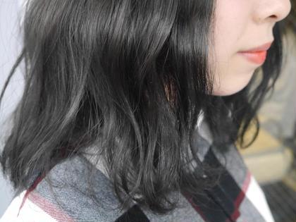 カラー ミディアム 秋カラー トーンダウン ワンカラー 透明感
