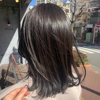 【SNSで話題の超音波アイロン】カット+カラー+TOKIOトリートメント+carepro+プチマッサージ+コテ仕上げ