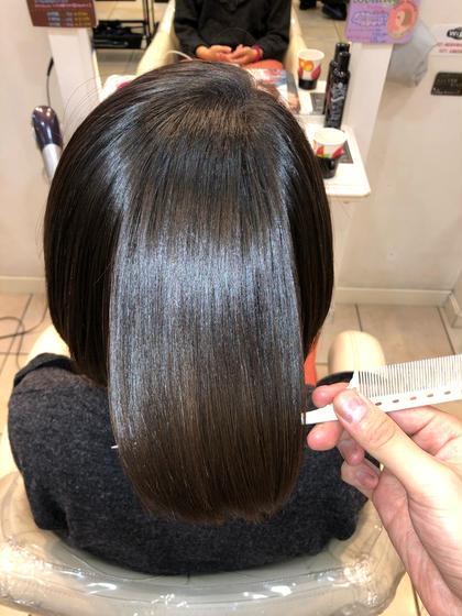 髪質改善×縮毛矯正