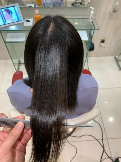 オール髪質対応☆新時代の髪質改善!プレミアムストレート✨