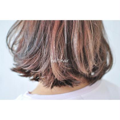 根本と毛先を反対色で染める外国人風カラー♪ andKAITO所属・and KAITOkaitoのスタイル