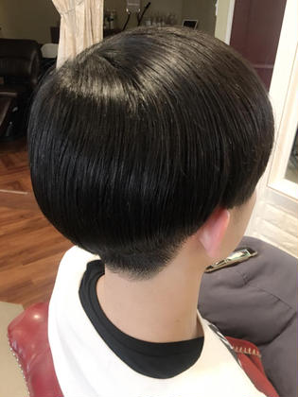 Korean Haircut ❤︎ 吉田茉緒のメンズヘアスタイル・髪型