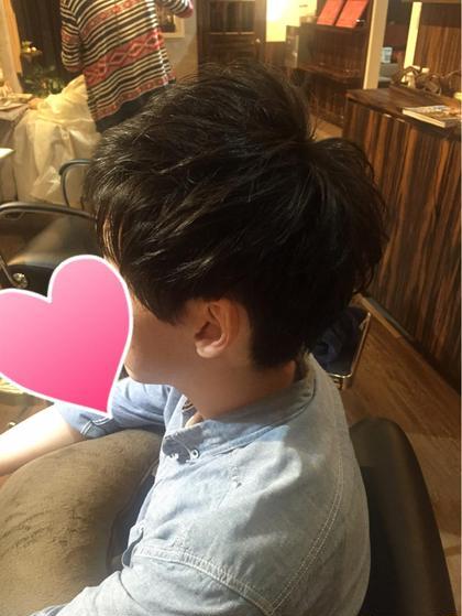 レイヤーで前回のパーマを生かしたマッシュスタイル  hairresort  Ai所属・豊里美希のスタイル