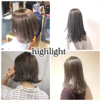 💗ダメージ極小ケアブリーチ💗前髪カット&インナーカラーorハイライトorグラデーション&トリートメント