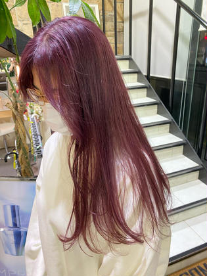 [10月限定クーポン🌺]カラー+髪質改善トリートメント