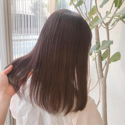 赤みゼロ☆やわらか透明感カラー