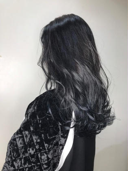 【就活応援】黒染めカラー+トリートメント【90分】
