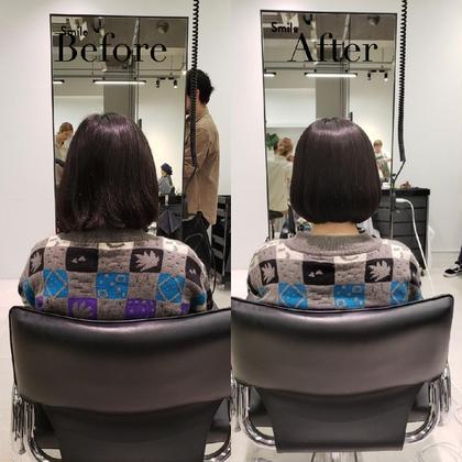 ❤️⛄クリスマス限定クーポン⛄❤️似合わせ小顔前髪カット+癒しのヘッドスパ+4STEP高保湿トリートメント