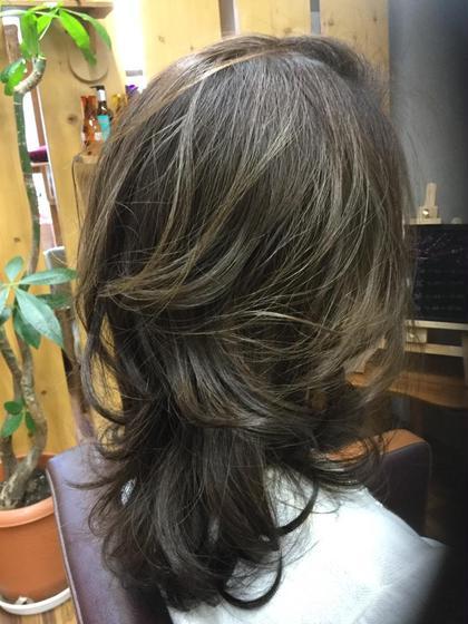 外国人風♪スモーキーアッシュのグラデーション♪ hair make little parks所属・後藤健史のスタイル