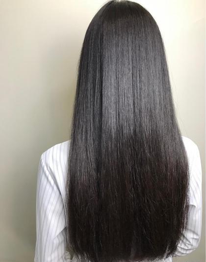 ♡女性限定 cut +treatment  (鎖骨より下)