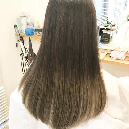 ミニモ限定❤️カット+カラー(リタッチ)+クセをしっかりのばす縮毛矯正