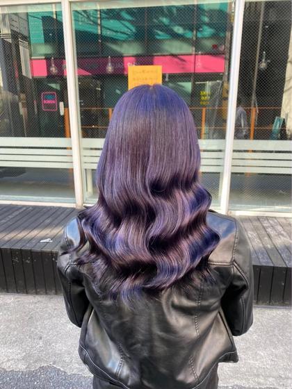 ✨髪質改善付き✨                       サイエンスアクア髪質改善➕うる艶カラー➕補修シャンプー
