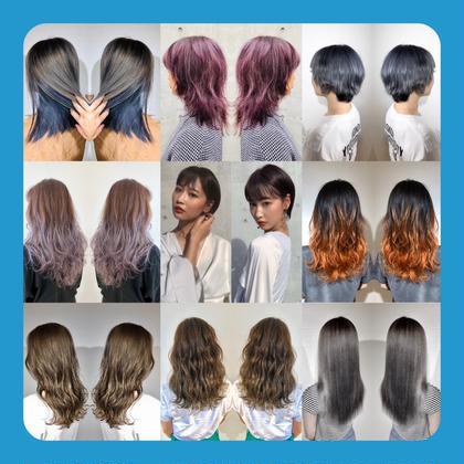 💕初回2回目限定💕🌈⭐️大人気⭐️【透明感】カラー&髪質改善4stepトリートメント🌈⚠️ロング料金なし⚠️