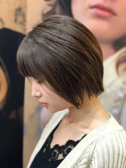 10月オススメ✨前髪カット+潤艶ヘアカラー+キラ艶トリートメント