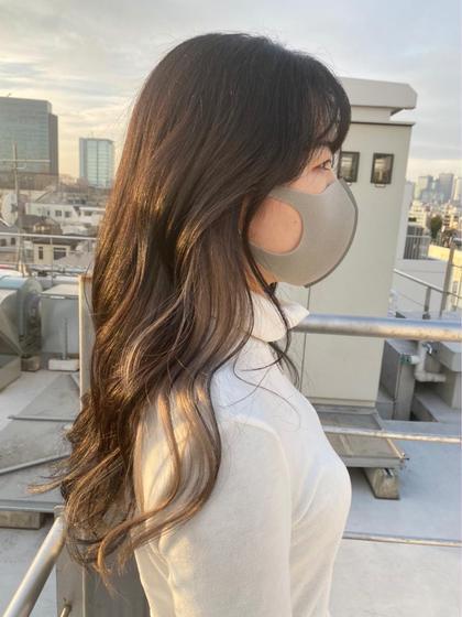 🤎🇰🇷【韓国STYLE】🇰🇷🤎韓国トレンドカット+カラー+クイックトリートメント🌟今流行りを提供いたします
