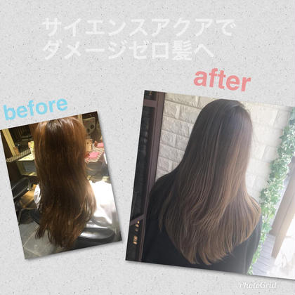 髪を綺麗にしたい方にオススメ✨「髪質改善ヘアエステ」サイエンスアクア
