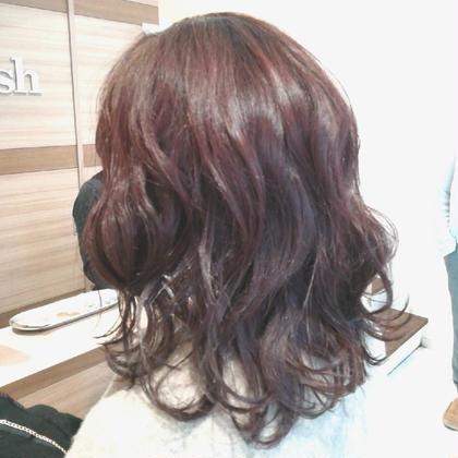 💕似合わせカット+潤艶カラー+毛髪補修トリートメント✨