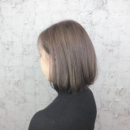[髪質改善✨ミディアム]イルミナカラー&oggiottoトリートメント