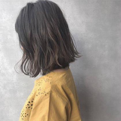 【🌼minimo限定価格🌼】似合わせ小顔カット&艶色カラー♪+オリジナル蜂蜜TR🍯