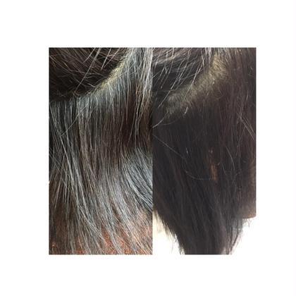縮毛矯正! 気になる癖を自然に真っ直ぐにし、まとまりやすい仕上がりに致しました!トリートメントもしっかりしたのでツヤも綺麗に出ました(*´∀`) ディアローグ瑞江所属・岡安知里のスタイル