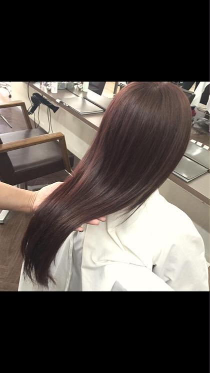 S/Sトレンド ツヤ髪ピンクベージュ hair Mission所属・SasakiRuiのスタイル