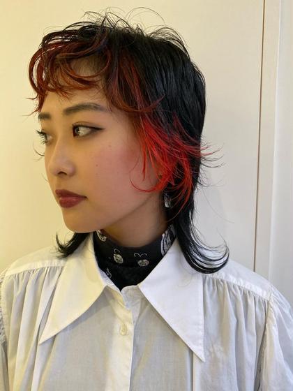 SOCO所属の杉本佳奈のヘアカタログ