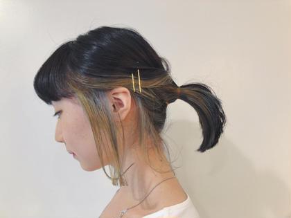 佐藤愛のミディアムのヘアスタイル