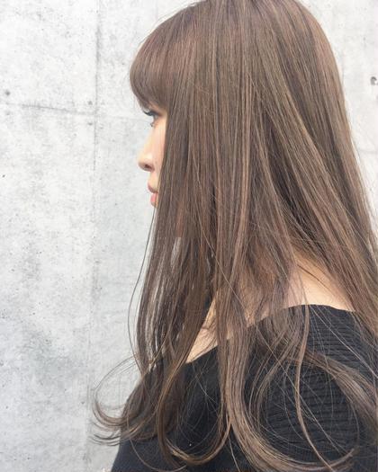 ❤︎限定【小顔カット & カラー&保湿トリートメント】