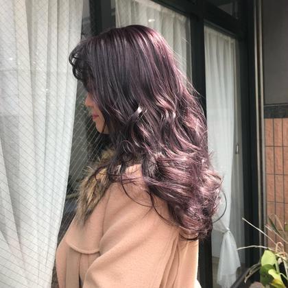 ブリーチ必須pink purple♪