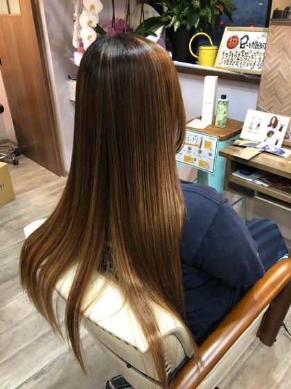 美髪ツヤサラストレート