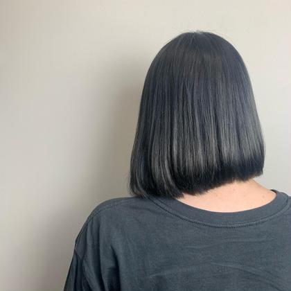 ♡女性限定 cut + treatment (ショート)(ボブ)