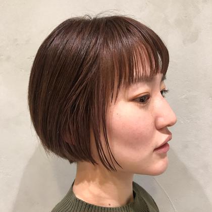 【今月オススメ】似合わせカット+オーガニックリタッチカラー¥4400全体カラー+1000円