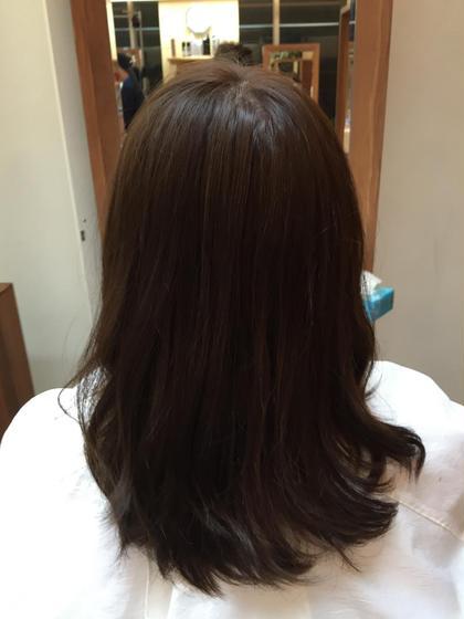 カラー ラベンダーアッシュです。 秋にぴったり落ち着いたお色になります。 JY'S(ジース)所属・阪口裕太のスタイル