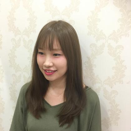 ツヤ感あふれるマットアッシュ!! HAIR&MAKE EARTH平井店所属・尾高元樹のスタイル