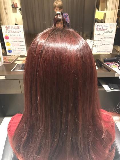 ツヤツヤオージュアトリートメント(^^) ハピネスクローバー八木店所属・松浦佐恵のスタイル