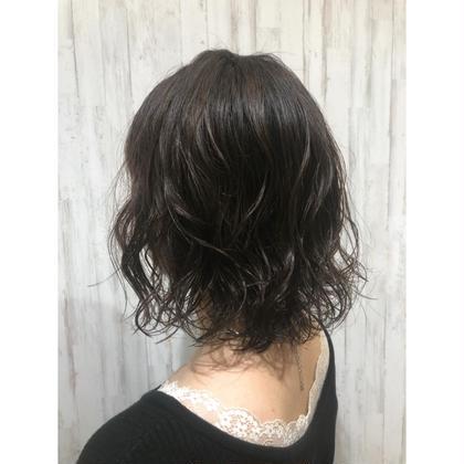 【平日限定】カット+ナチュラルパーマ
