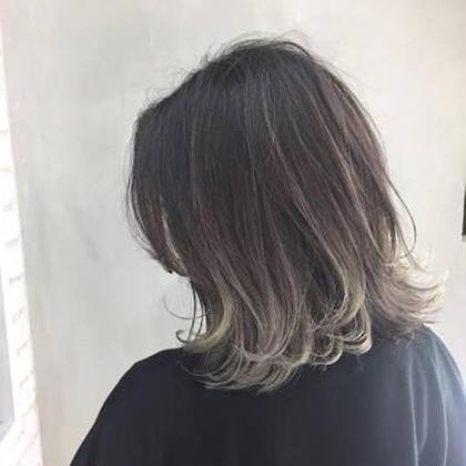 藤島佑弥のミディアムのヘアスタイル