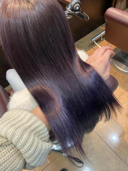 ❤︎今話題の髪質改善❤︎💐ワンカラー&髪質改善グラスヘアトリートメント💐