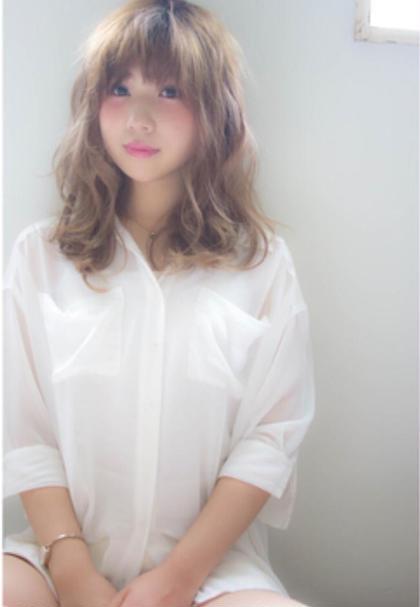 オートクチュールカラーで アッシュベージュに仕上げました! iNUOVE所属・田中郁矢のスタイル