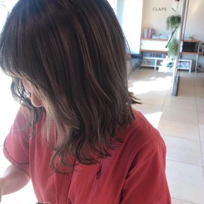透明感*アディクシーcolor & cut +*Aujuaトリートメント +頭皮スッキリ炭酸泉付き