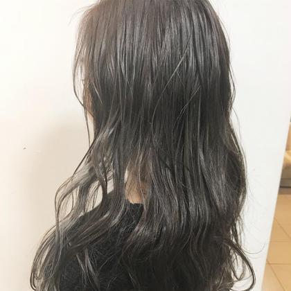カット & 外国人風カラー & 髪質再生トリートメント
