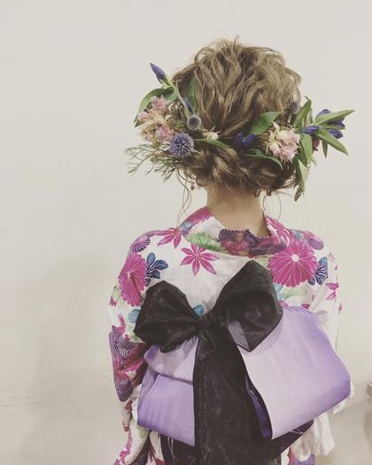 夏の花火大会、お祭りの季節ですね!浴衣レンタル、ヘアメイク、着付けやっております。 ZEST bis所属・宍戸敬ZEST所属のスタイル